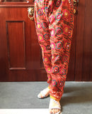 Hand Embroidered Phulkari Pants