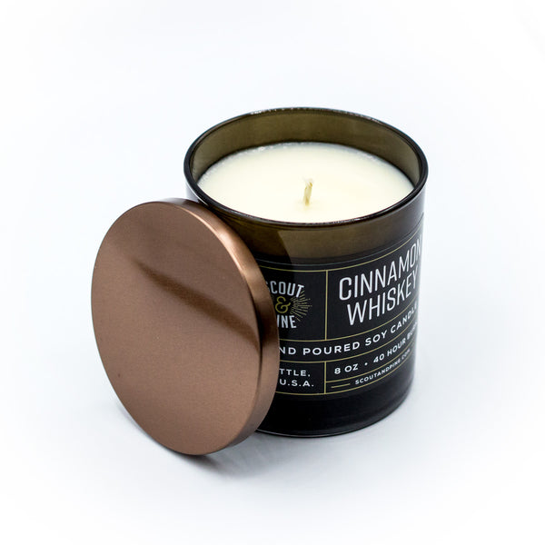 Soy Candle – Cinnamon Whiskey