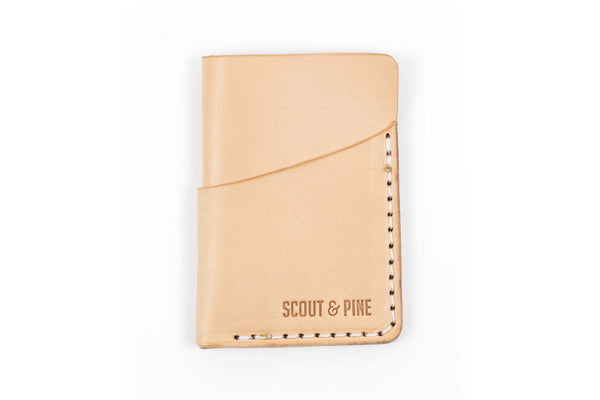 Slip Wallet – Natural Veg-Tan