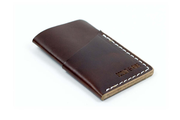 Slip Wallet – Brown Chromexcel