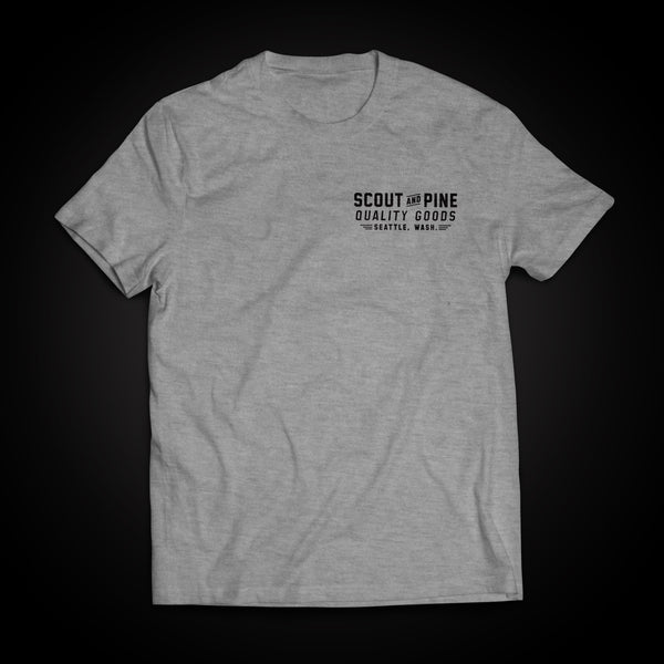 Workshop Tee – Sport Grey
