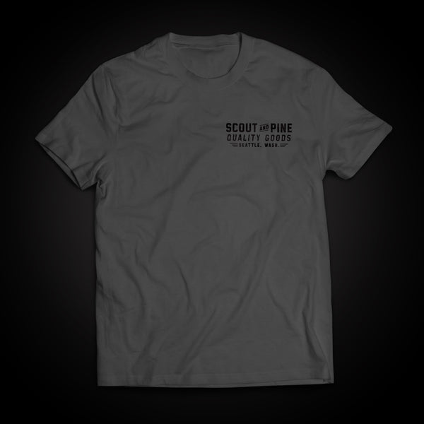 Workshop Tee – Slate Grey