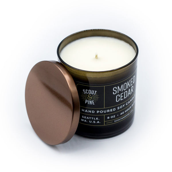 Soy Candle – Smoked Cedar