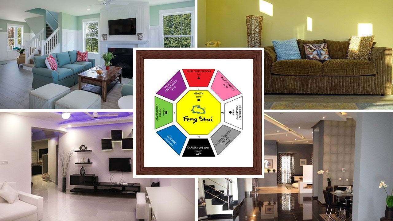 Build Your Feng Shui With A Bagua Map