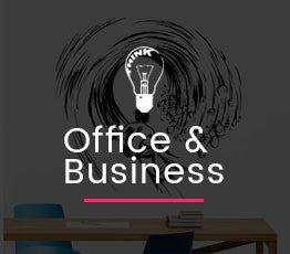 office decal banner
