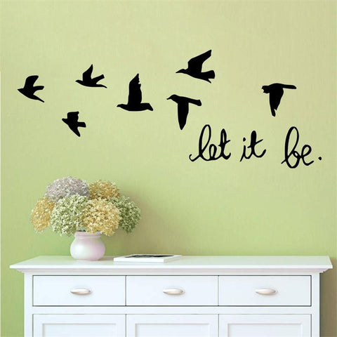 Wall Decal Quote