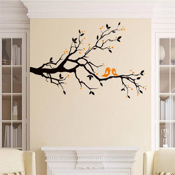 Lovebirds Branch Tree