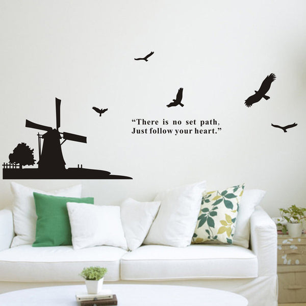 Wind Mill Wall Decal