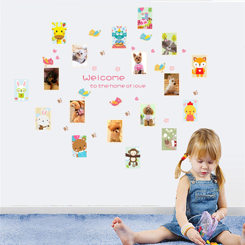 Animal Friends Wall Stickers