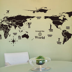 Where In The World Map