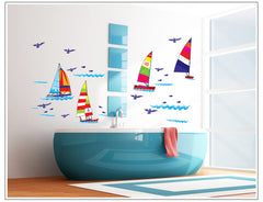 Sailboat  Stickers