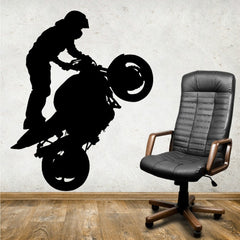 Extreme Sports Motorcycle Wall Decal