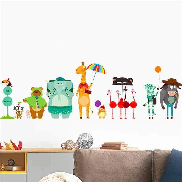 Animals Crew Wall Stickers