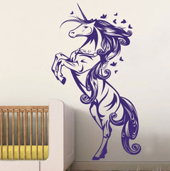 Unicorn Girls Bedroom Wall Sticker