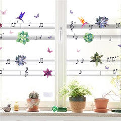 Musical Notes Wall Decal