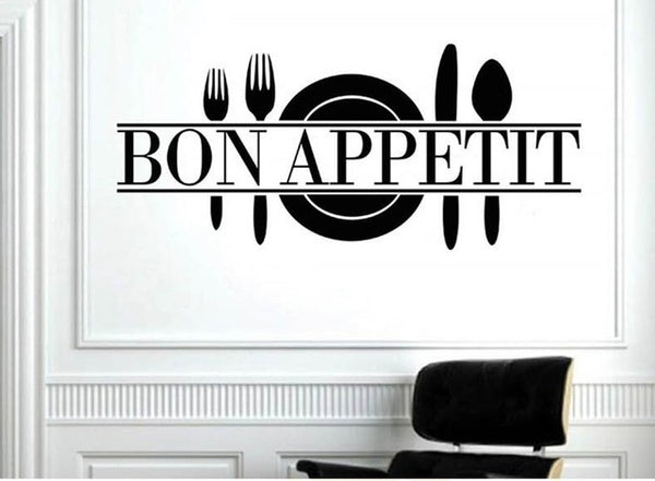 Bon Appetit Words Wall Sticker