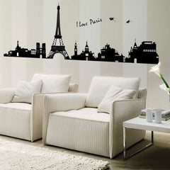 Paris Eiffel Tower Wall Decal