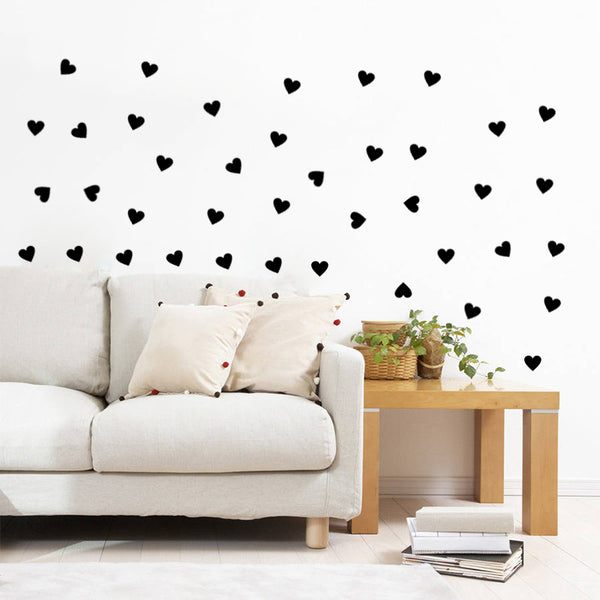 Romantic Heart Wall Stickers