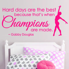 Champions Inspirational Quote