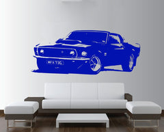 Ford Mustang 1969 Wall Sticker