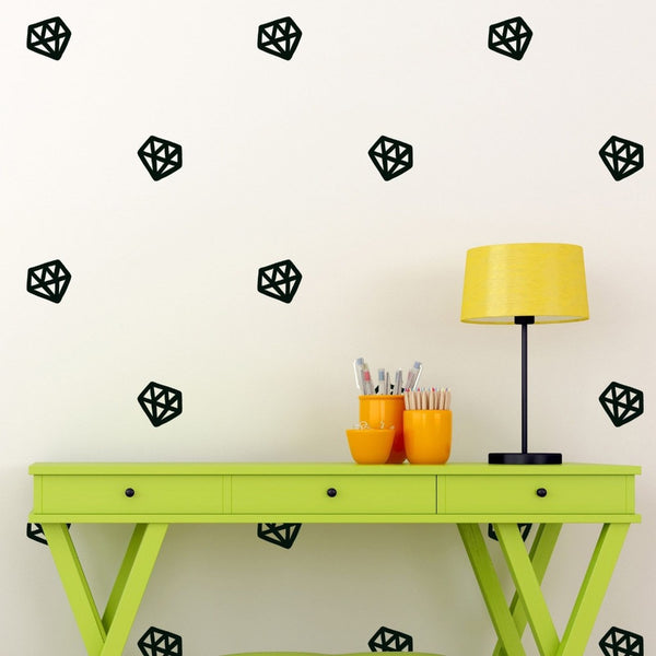 Diamond Wall Decal