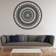 Mandala Symbol Wall Decor Sticker