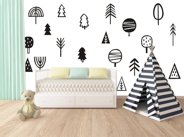 Sticker Trees Wall Decal
