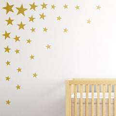 Multisize Star Wall Stickers