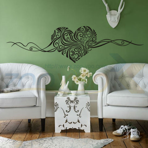 Romantic Love Heart Wall Sticker