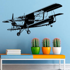 Military Aviation Airplane Wall Sticker