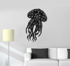 Marine Animal Jellyfish Wall Sticker