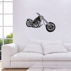 Harley Motorcycle Wall Sticker