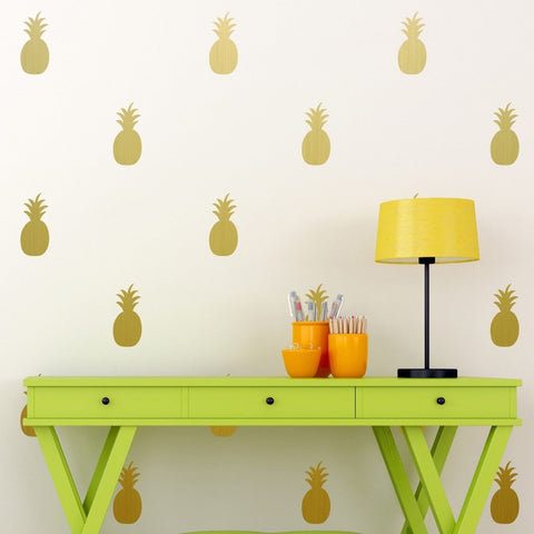 Crazy Pineapple Set Wall Stickers
