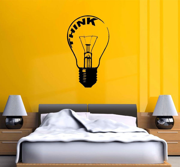 Lamp Minimalist Wall Sticker