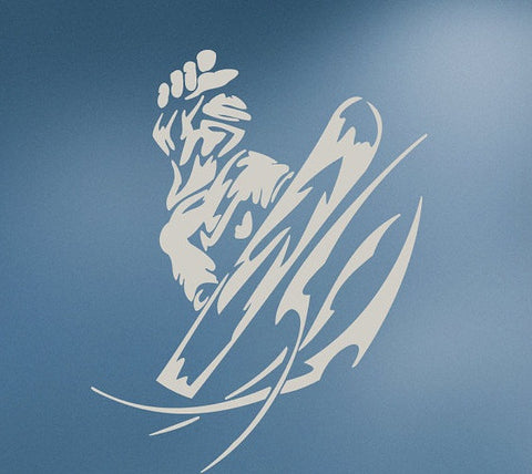Cool Snowboarder Sport Wall Decals