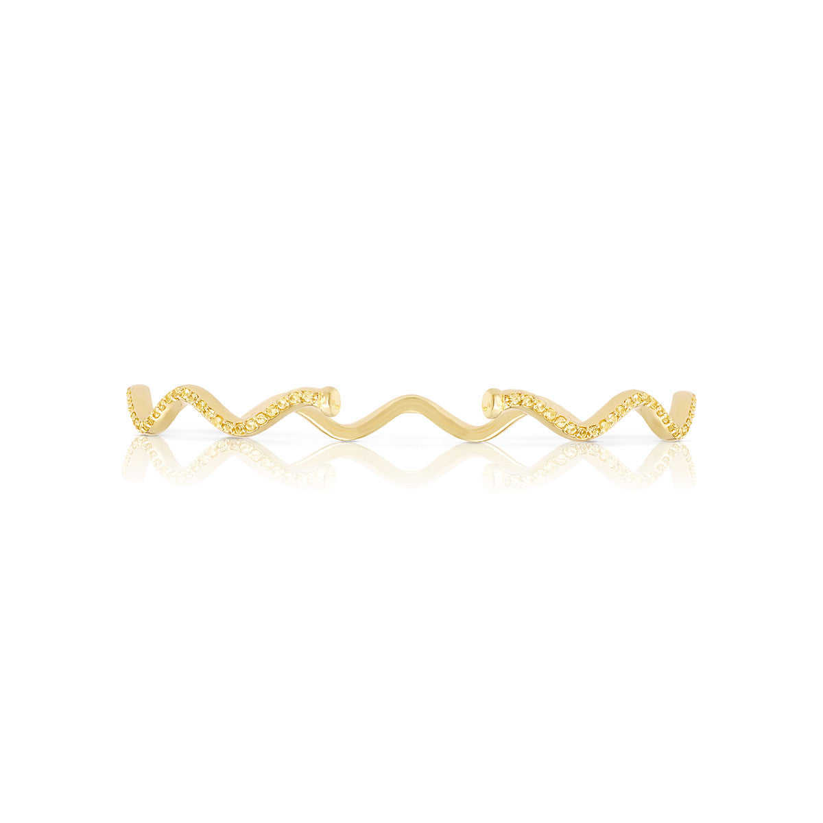 Solid Wave Cuff