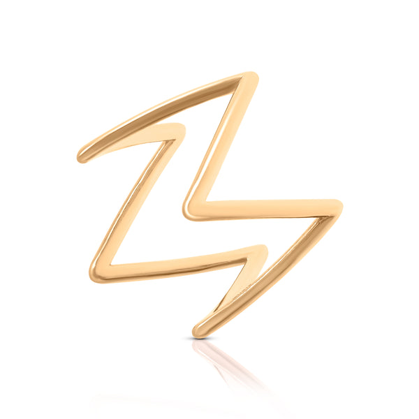 Rose Gold Ziggy Ring