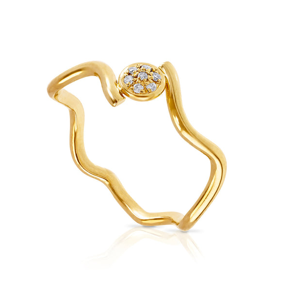 Wiggly Love Ring