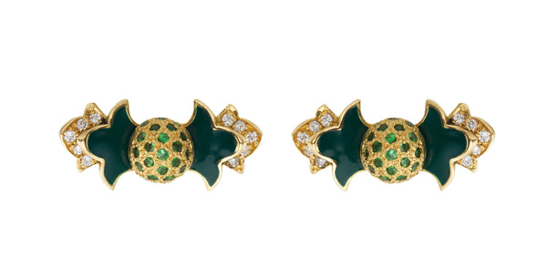 Foglia Verde Earrings