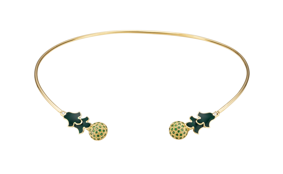 Foglia Verde Necklace