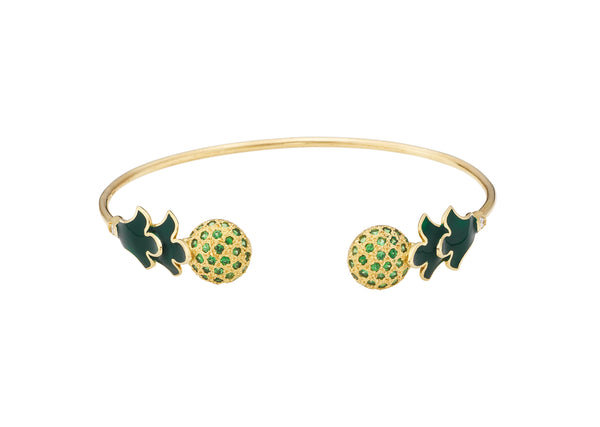 Foglia Verde Bangle