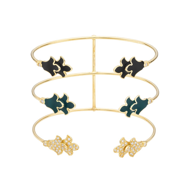 Foglia Trecento Bangle