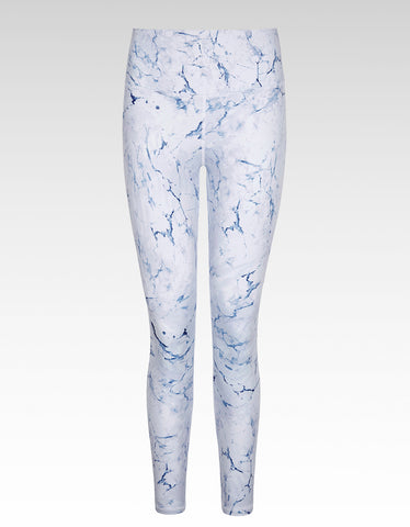 Cloud Crackle High Waisted 7/8 Length Legging