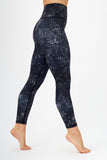 Stardust 7/8 High Waisted Length Gym Leggings
