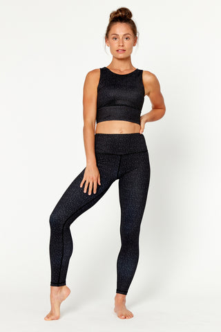 On The Dot High Waisted Full Length Legging