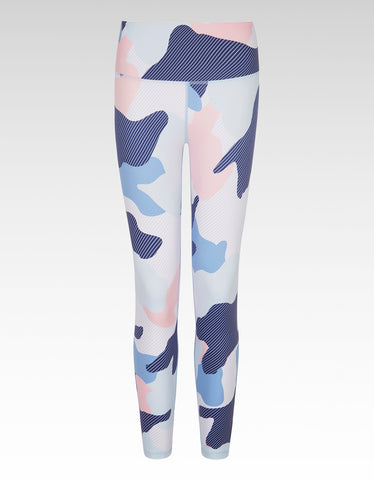 Grigio Camo High Waisted 7/8 Legging