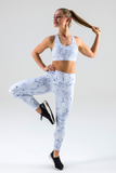 Cloud Crackle High Waisted 7/8 Legging