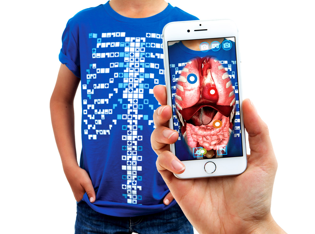 8ab026cef Virtuali-Tee - Augmented Reality T-Shirt | Curiscope UK & EU