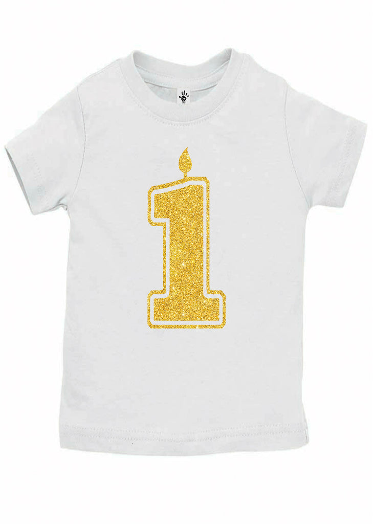 Baby Boy Handmade 1st Birthday Shirts
