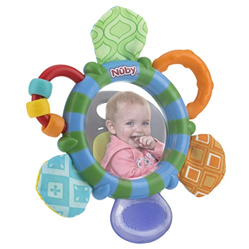 Nuby Look-at-Me Mirror Teether Toy - Aiden's Corner